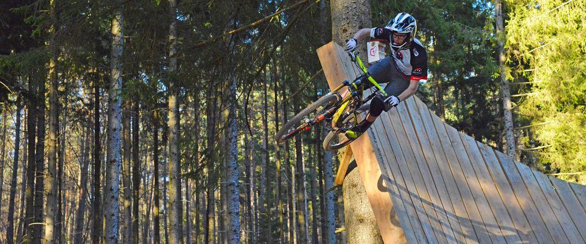 2 Singletrails für E-MTB Touren im Pfälzerwald - Deutschland: Pfälzerwald mit dem E-Mountainbike